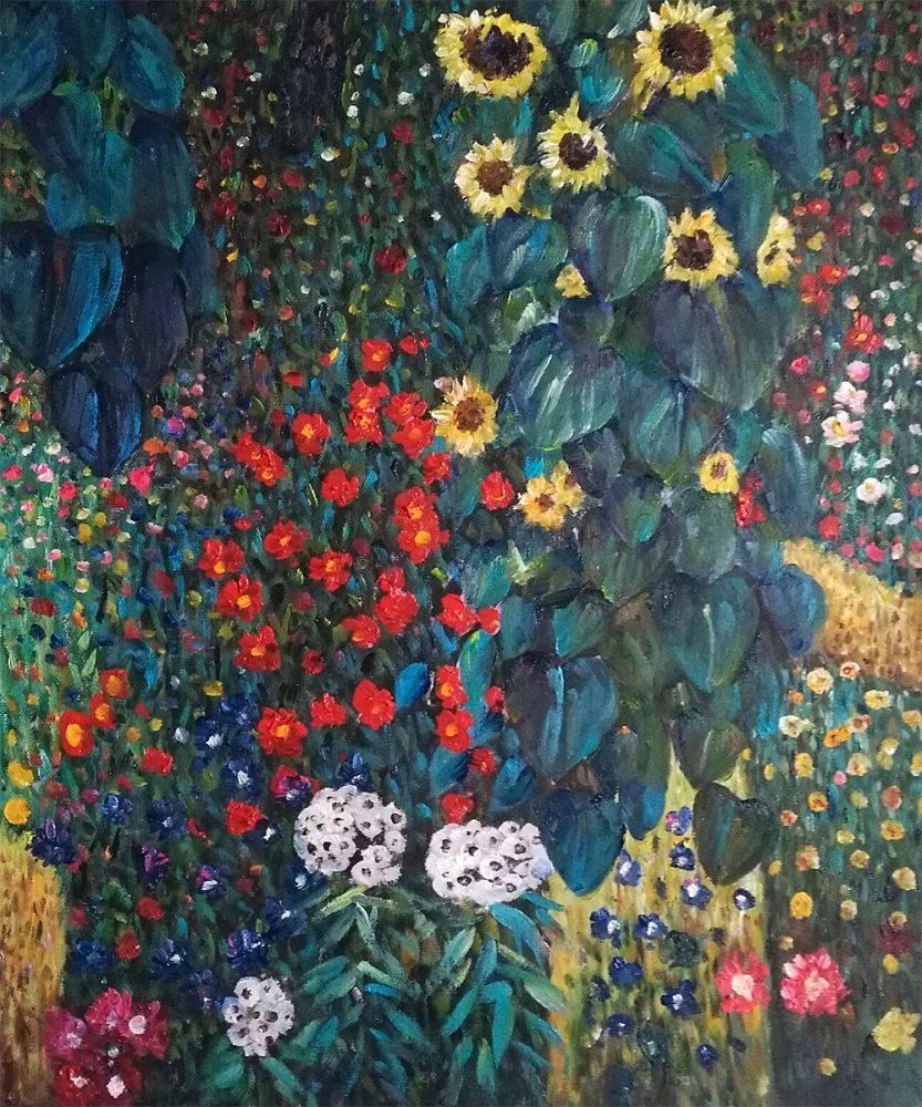 Sunflower_-_Gustav_Klimt