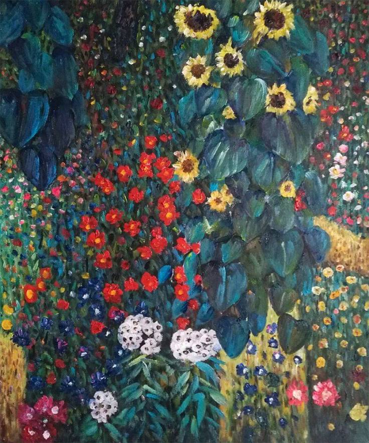 Sunflower_-_Gustav_Klimt